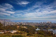 η Χιλή del χαλά το vina valparaiso Στοκ Εικόνες
