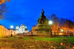 Η χιλιετία μνημείων της Ρωσίας Στοκ Φωτογραφίες