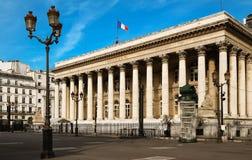 Η χρηματιστήριο του παλατιού του Παρισιού Brongniart, Παρίσι, Γαλλία Στοκ εικόνα με δικαίωμα ελεύθερης χρήσης