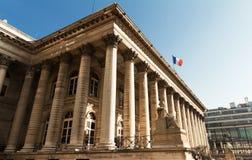 Η χρηματιστήριο του Παρισιού, Γαλλία Στοκ φωτογραφία με δικαίωμα ελεύθερης χρήσης