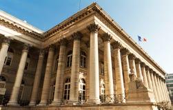 Η χρηματιστήριο του Παρισιού, Γαλλία Στοκ Φωτογραφίες