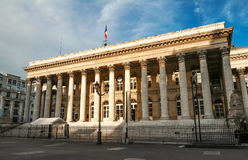 Η χρηματιστήριο του παλατιού του Παρισιού Brongniart, Παρίσι, Γαλλία Στοκ φωτογραφίες με δικαίωμα ελεύθερης χρήσης