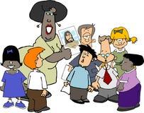 η χριστιανική σχολική Κυρ απεικόνιση αποθεμάτων
