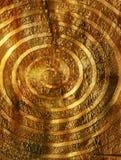 Η χρυσή δίνη Στοκ φωτογραφία με δικαίωμα ελεύθερης χρήσης