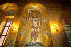 Η χρυσή αίθουσα Στοκ φωτογραφία με δικαίωμα ελεύθερης χρήσης