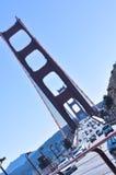 Η χρυσή γέφυρα πυλών, Σαν Φρανσίσκο Στοκ Εικόνα