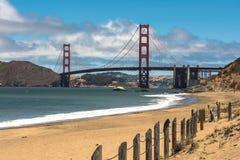Η χρυσή γέφυρα πυλών, Σαν Φρανσίσκο Στοκ εικόνα με δικαίωμα ελεύθερης χρήσης