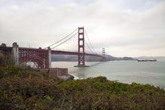 Η χρυσή γέφυρα πυλών στοκ φωτογραφίες με δικαίωμα ελεύθερης χρήσης