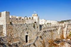 Η χρυσή πύλη κατά την παλαιά όψη πόλεων της Ιερουσαλήμ Στοκ φωτογραφίες με δικαίωμα ελεύθερης χρήσης