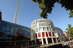 Η χρυσή σκάλα σε Duisburg Στοκ εικόνες με δικαίωμα ελεύθερης χρήσης