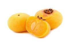 Η χρυσή Apple, decandra Lour Diospyros Ταϊλανδικά φρούτα και ταϊλανδικό herbon Στοκ εικόνες με δικαίωμα ελεύθερης χρήσης