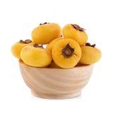 Η χρυσή Apple, decandra Lour Diospyros Ταϊλανδικά φρούτα και ταϊλανδικό herbon Στοκ Εικόνες