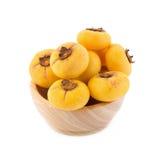 Η χρυσή Apple, decandra Lour Diospyros Ταϊλανδικά φρούτα και ταϊλανδικό herbon Στοκ Εικόνα