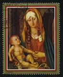 Η χρωματίζοντας Virgin πριν από την αψίδα από το Albrecht Durer Στοκ Φωτογραφία