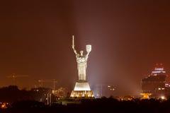 η χτισμένη μητέρα πατρίδα Ναζί του Κίεβου πέρα από τη νίκη της Ουκρανίας αγαλμάτων ενθύμησης s ήταν Στοκ φωτογραφίες με δικαίωμα ελεύθερης χρήσης