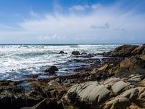 Η ωκεάνια παραλία στοκ φωτογραφίες