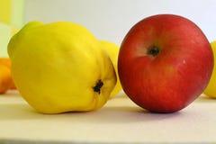 Η όμορφα Apple και κυδώνι Στοκ Φωτογραφίες