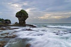 Η όμορφη ακτή της Ταϊβάν Στοκ Εικόνες