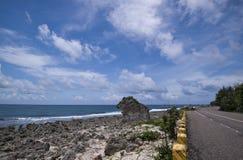 Η όμορφη ακτή της Ταϊβάν Στοκ φωτογραφία με δικαίωμα ελεύθερης χρήσης