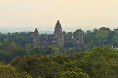 Η όμορφη ανατολή σε Ankor Wat, Siem συγκεντρώνει την Καμπότζη Στοκ φωτογραφία με δικαίωμα ελεύθερης χρήσης