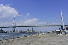 Η όμορφη γέφυρα Konohana Στοκ εικόνα με δικαίωμα ελεύθερης χρήσης