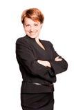 η όμορφη επιχειρηματίας όπ&lambda Στοκ φωτογραφίες με δικαίωμα ελεύθερης χρήσης