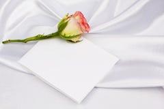 η όμορφη κάρτα αυξήθηκε κεί& Στοκ φωτογραφίες με δικαίωμα ελεύθερης χρήσης