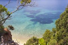 Η όμορφη παραλία Antisamos Στοκ φωτογραφίες με δικαίωμα ελεύθερης χρήσης