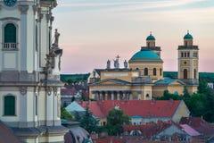 Η όμορφη περιοχή κρασιού Eger στην Ουγγαρία στοκ εικόνα με δικαίωμα ελεύθερης χρήσης