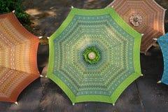 η όμορφη σύσταση στην ομπρέλα Στοκ φωτογραφία με δικαίωμα ελεύθερης χρήσης