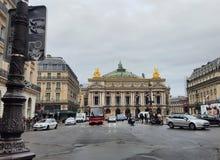 Η όπερα Garnier του Παρισιού, Γαλλία Στοκ Φωτογραφίες