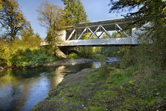 η 2 καλυμμένη γέφυρα Hannah Όρεγκ& στοκ φωτογραφία με δικαίωμα ελεύθερης χρήσης