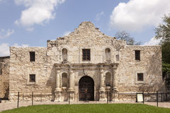 Η Alamo αποστολή στο San Antonio, Τέξας Στοκ εικόνα με δικαίωμα ελεύθερης χρήσης