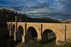 Η Alcántara γέφυρα Στοκ Φωτογραφία