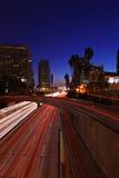 η Angeles στο κέντρο της πόλης Los nigh η & Στοκ φωτογραφίες με δικαίωμα ελεύθερης χρήσης