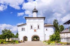 Η Annunciation εκκλησία πυλών στο Σούζνταλ, το χρυσό δαχτυλίδι Russi Στοκ εικόνα με δικαίωμα ελεύθερης χρήσης