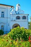 Η Annunciation εκκλησία πυλών του μοναστηριού μεσολάβησης του Σούζνταλ Στοκ Εικόνες