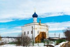 Η Annunciation εκκλησία στην πόλη Tutaev, Ρωσία Στοκ φωτογραφία με δικαίωμα ελεύθερης χρήσης