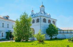Η Annunciation εκκλησία του μοναστηριού μεσολάβησης του Σούζνταλ Στοκ Εικόνες