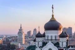 Η Annunciation Ορθόδοξη Εκκλησία καθεδρικών ναών στο κέντρο της πόλης Voronezh Στοκ φωτογραφίες με δικαίωμα ελεύθερης χρήσης