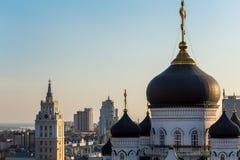 Η Annunciation Ορθόδοξη Εκκλησία καθεδρικών ναών στο κέντρο της πόλης Voronezh Στοκ φωτογραφία με δικαίωμα ελεύθερης χρήσης