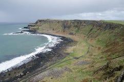 Η Antrim ακτή, Βόρεια Ιρλανδία Στοκ εικόνες με δικαίωμα ελεύθερης χρήσης