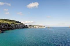 Η Antrim ακτή Στοκ εικόνες με δικαίωμα ελεύθερης χρήσης