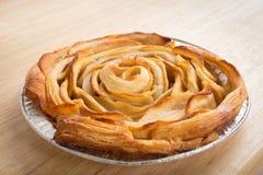 Η Apple αυξήθηκε πίτα Στοκ Φωτογραφία