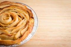 Η Apple αυξήθηκε πίτα Στοκ εικόνα με δικαίωμα ελεύθερης χρήσης