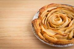 Η Apple αυξήθηκε πίτα Στοκ Εικόνες