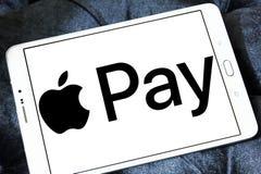 Η Apple πληρώνει το λογότυπο Στοκ Εικόνες