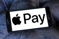 Η Apple πληρώνει το λογότυπο Στοκ φωτογραφία με δικαίωμα ελεύθερης χρήσης