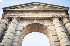 Η Aquitaine πύλη που εμπνέεται από τις αρχαίες θριαμβευτικές αψίδες στοκ εικόνα με δικαίωμα ελεύθερης χρήσης