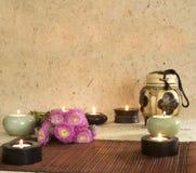 η aromatherapy ανασκόπηση σημαδεύει  Στοκ φωτογραφία με δικαίωμα ελεύθερης χρήσης